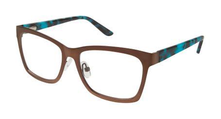 gx by Gwen Stefani Juniors GX805  Kids Glasses Brown BRN