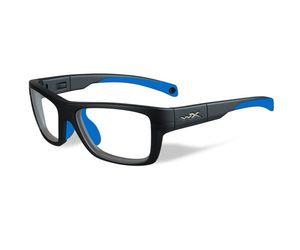 fc39c4b1ea Wiley X Youth Force WX Crush YFCRS05 Kids Sports Glasses Matte Grey Blue