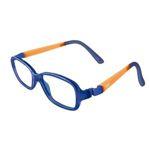 Nano NAO50133 Re-Play Kids Eyeglasses Marine Trans/Glowing Orange Eye Size 44-15
