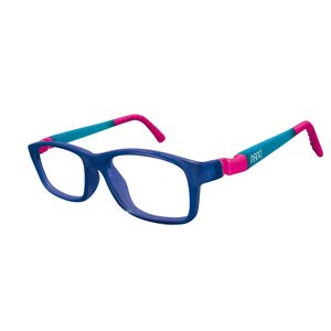 Nano NAO571246 Crew Kids Eyeglasses Marine Trans/Glowing Blue Eye Size 46-17