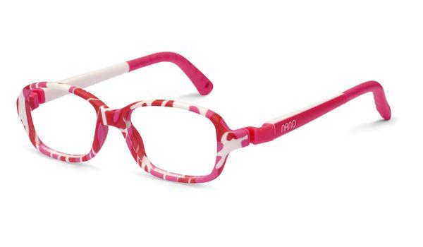 Nano NAO50055 Re-Play Kids Eyeglasses Camouflage Pink/White Eye Size ...