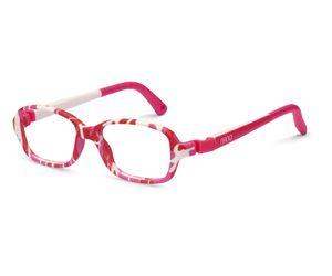 7d2e024ab86 Nano NAO50055 Re-Play Kids Eyeglasses Camouflage Pink White Eye Size 42-15
