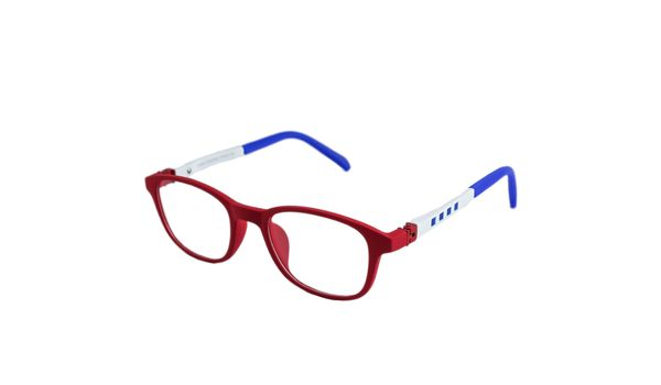 Chick Kids Eyeglasses K512-21 Red