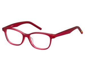 Polaroid Kids PLD D802 0ILZ Transparent Cherry Kids Eyeglasses