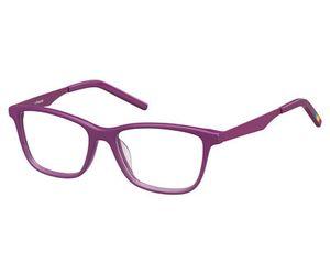 Polaroid Kids PLD D805 0HSO Cyclamen Kids Eyeglasses