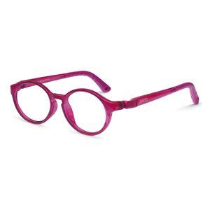 Nano NAO600846 Breakout Kids Eyeglasses Raspberry/Raspberry Eye Size 46-17