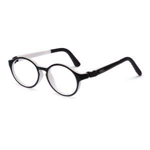 Nano NAO600946 Breakout Kids Eyeglasses Black/White Eye Size 46-17