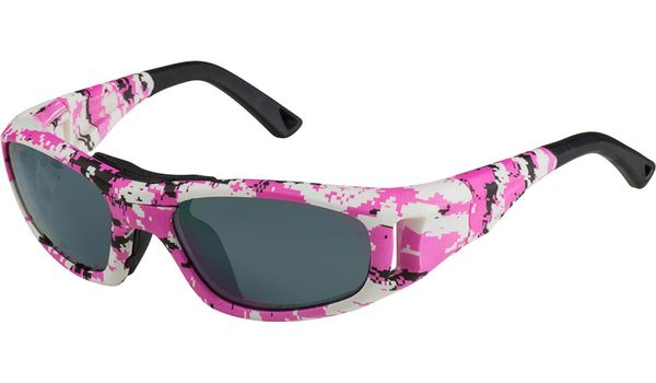 C2 Rx Hilco Leader Kids Sports Saftey Glasses 365311100  Pink Camo