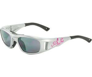 C2 Hilco Leader Kids Sports Saftey Glasses  Free Spirit Silver