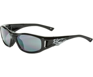 C2 Hilco Leader Kids Sports Saftey Glasses Warrior Black
