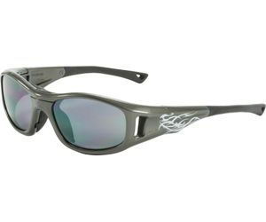 C2 Hilco Leader Kids Sports Saftey Glasses Warrior Gunmetal