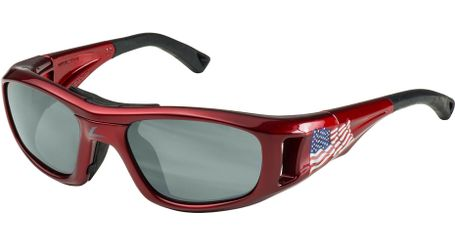 C2 Hilco Leader Kids Sports Saftey Glasses US Flag Red