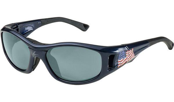 C2 Hilco Leader Kids Sports Saftey Glasses US Flag Navy