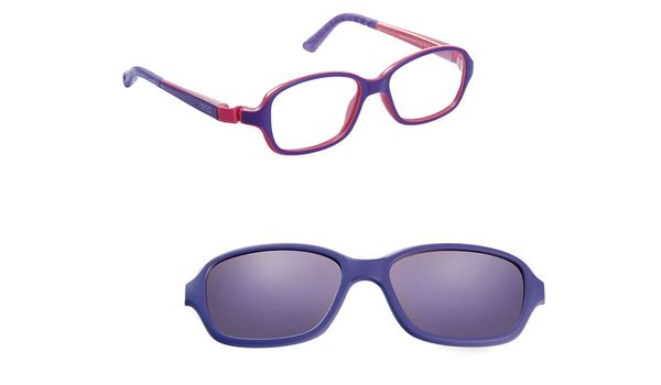 e384d7b6a2 Nano NAO50035SC Re-Play Kids Eyeglasses Matte Purple Pink Eye Size 42-15  NAO50035SC - Optiwow