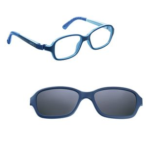 Nano NAO50036SC Re-Play Kids Eyeglasses Matte Navy/Blue Eye Size 42-15