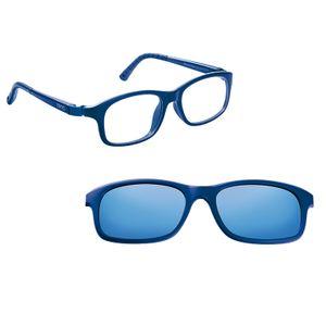 Nano NAO521546SC Arcade Kids Eyeglasses Matte Blue/Blue Eye Size 46-17