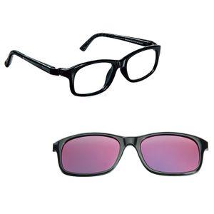 Nano NAO521746SC Arcade Kids Eyeglasses Shiny Black/Black Eye Size 46-17