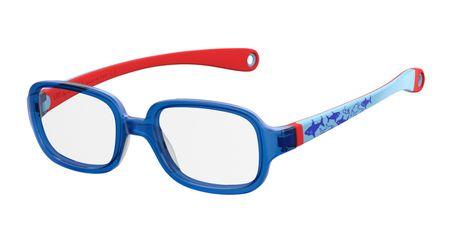 Kids By Safilo Sa0003/N Eyeglasses Blue Red Wood 0X2D