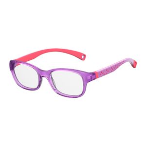 Kids By Safilo Sa0007 Eyeglasses Flower Violet 0BPK