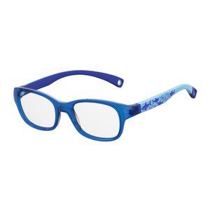 Kids By Safilo Sa0007 Eyeglasses Blue Pattern 0S6F