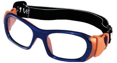 Versport VX72491 Olimpo Kids Sports Goggles Dk Blue/Orange Eye Size 49-17