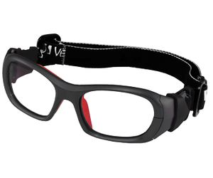 36dc830cd9 Versport VX72496 Olimpo Kids Sports Goggles Mt Black Red Eye Size 49-17
