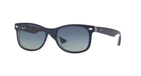 164b86b72bd Ray-Ban RJ9052S New Wayfarer Junior Sunglasses Blue Blue Gradient RJ9052S  70234L - Optiwow