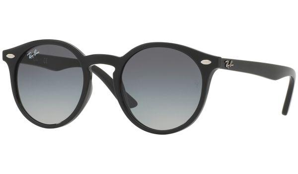 Ray-Ban Junior RJ9064S Kids Sunglasses Black/Grey Gradient Lenses 100/11