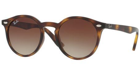 Ray-Ban Junior RJ9064S Kids Sunglasses Shiny Havana/Brown Gradient Lenses 152/13