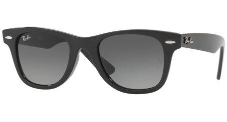 c7be3f635a1 Ray-Ban RJ9066S Wayfarer Kids Junior Sunglasses Black Grey Gradient ...