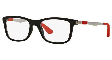 Ray-Ban Junior RY1549-3652 Kids Glasses Matte Black