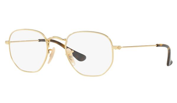 Ray-Ban Junior RY9541V-3743 Kids Glasses Gold