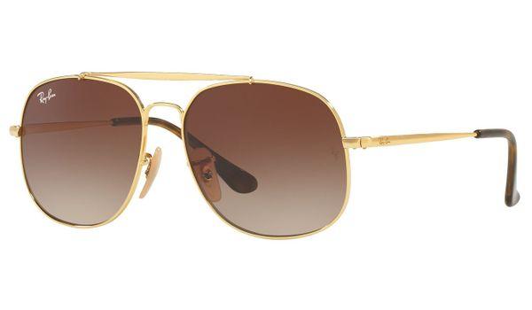 Ray-Ban Junior RJ9561S Kids Sunglasses Gold/Brown Gradient Lenses 223/13