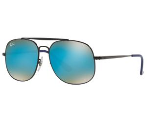 986462b03f Ray-Ban RJ9561S Kids Junior Sunglasses Black Blue Gradient Flash