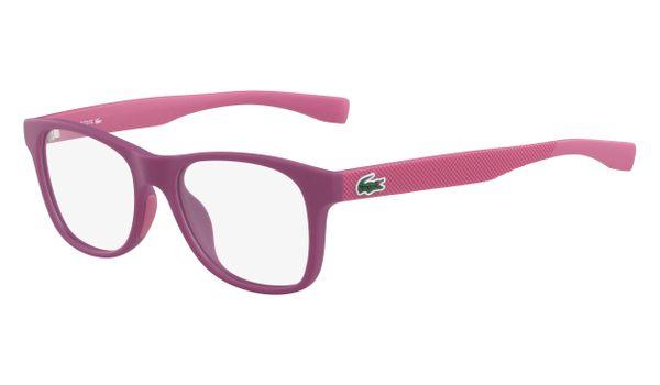 Lacoste L3620-526 Kids Eyeglasses Matte Cyclamen