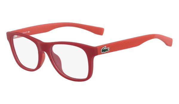Lacoste L3620-615 Kids Eyeglasses Matte Red