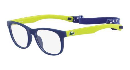 Lacoste L3621-414 Kids Eyeglasses Matte Navy
