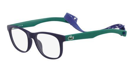 Lacoste L3621-424 Kids Eyeglasses Matte Blue