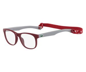 Lacoste L3621-615 Kids Eyeglasses Matte Red
