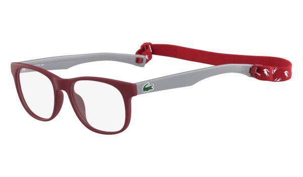 Lacoste L3621-615 Kids Eyeglasses Matte Red