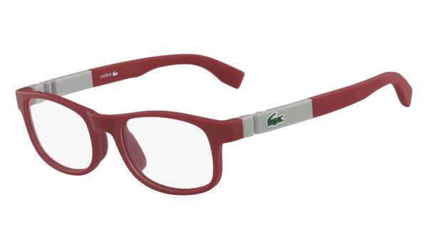 Lacoste L3627-615 Kids Eyeglasses Matte Red