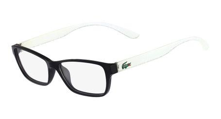 Lacoste L3803B-002 Kids Eyeglasses Black with Starphospho Temples