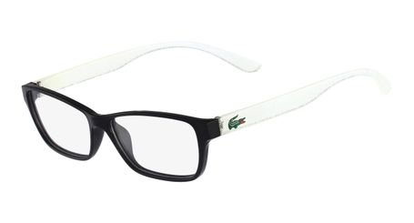 Lacoste L3803B-002 Kids Eyeglasses Black with Starphospho Temples