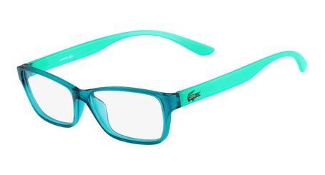Lacoste L3803B-444 Kids Eyeglasses Aqua with Starphospho Temples