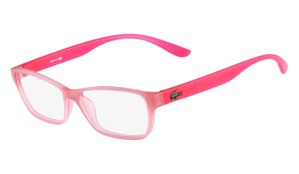 Lacoste L3803B-662 Kids Eyeglasses Rose with Starphospho Temples