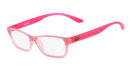 Lacoste L3803B-662 Kids Eyeglasses Rose with Starphospho Temples