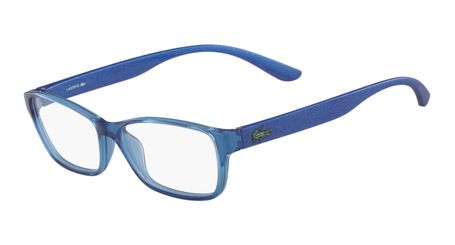 Lacoste L3803B-440 Kids Eyeglasses Azure with Starphospho Temples