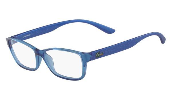 Lacoste L3803B-440 Kids Eyeglasses Azure with Starphospho Temples