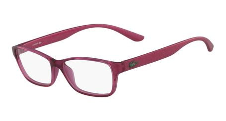 Lacoste L3803B-525 Kids Eyeglasses Fuchsia with Starphospho Temples