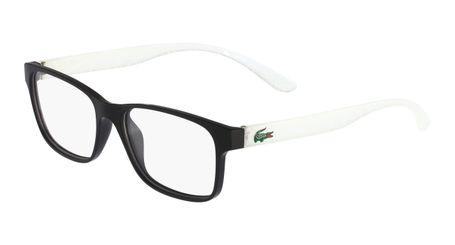 Lacoste L3804B-004 Kids Eyeglasses Black Matte with Starphospho Temples